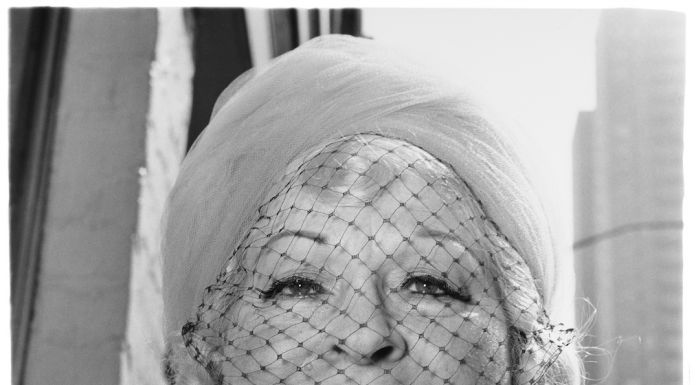 DIANE ARBUS Woman with a veil on Fifth Avenue, N.Y.C. 1968 © The Estate of Diane Arbus