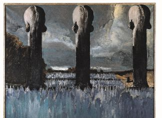 Sergio Vacchi, La Piscina, 1973