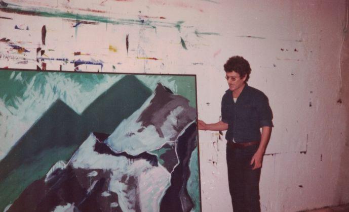 1981 Bernd Zimmer nel suo studio a Polling