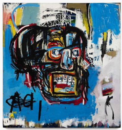 Jean-Michel Basquiat. Untitled, 1982. Acrylic, spray paint and oilstick on canvas. 183.2 x 173 cm. © Estate of Jean-Michel Basquiat. Licensed by Artestar, New York © Photograph Courtesy of Sotheby's, Inc. 2018