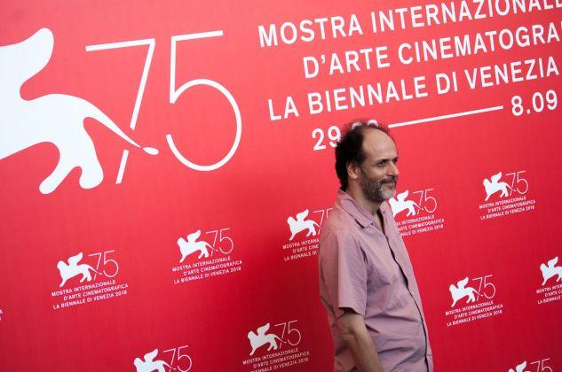 75. Mostra del Cinema di Venezia. Luca Guadagnino. Photo Irene Fanizza