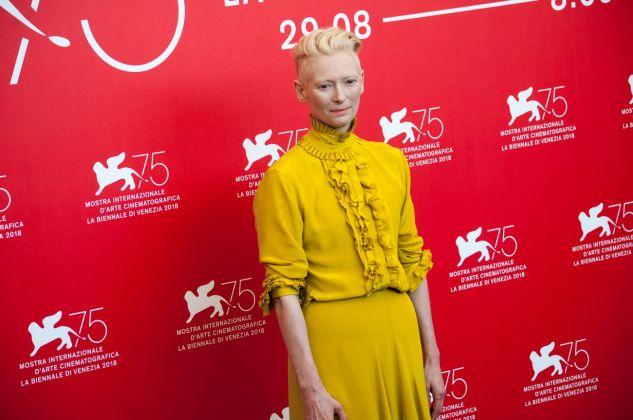 75. Mostra del Cinema di Venezia. Tilda Swinton. Photo Irene Fanizza