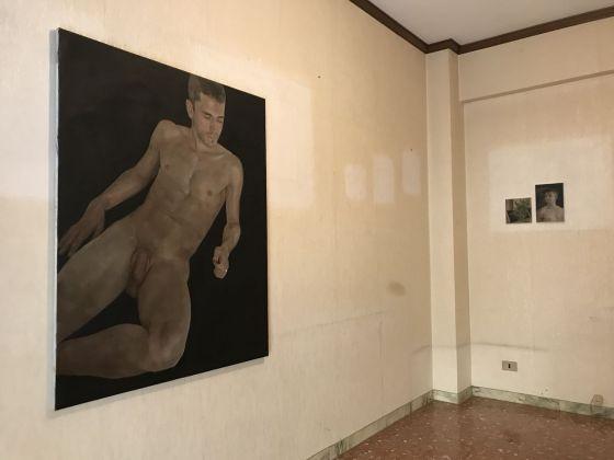 Alberto Torres Hernández. Past Continuous. Exhibition view at Casa Vuota, Roma 2018