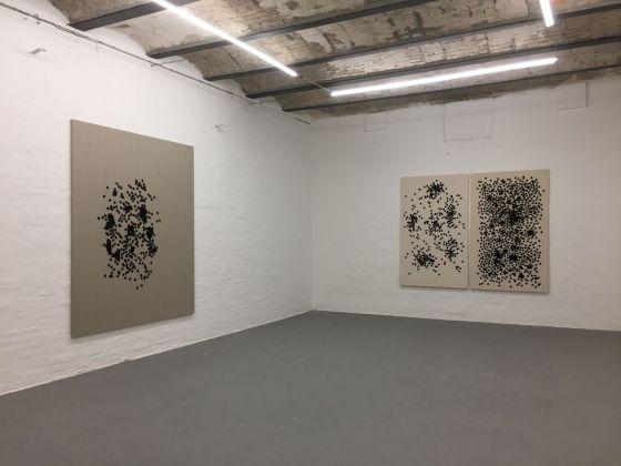 Aldo Runfola. Installation view at Galleria Michela Rizzo, Venezia 2018