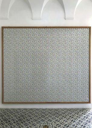 Alessandro Mendini, Pointillisme. Installation view at Museo della Casa Rossa, Anacapri 2018