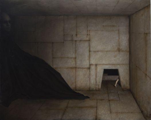 Alessandro Sicioldr, Il Labirinto o La Fuga, 2018