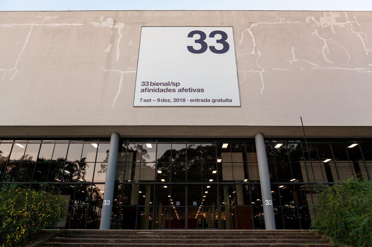 Allestimento della 33esima Biennale di San Paolo © Pedro Ivo Trasferetti / Fundação Bienal de São Paulo