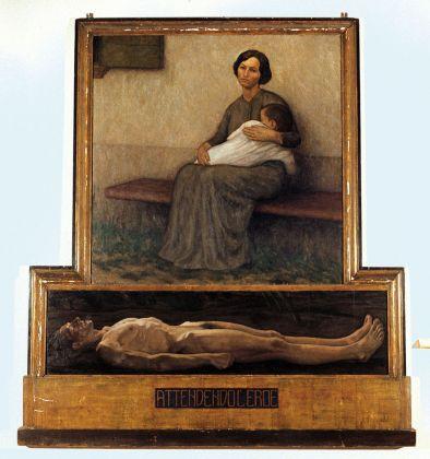 Archimede Bresciani, Attendendo l'eroe, 1920. Gazoldo degli Ippoliti, Museo d'Arte Moderna