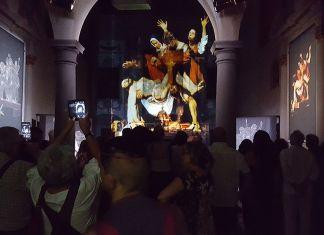 Architettura e geometria da Caravaggio. Mostra di Cesare Pergola. Photo Massimo Bevilacqua
