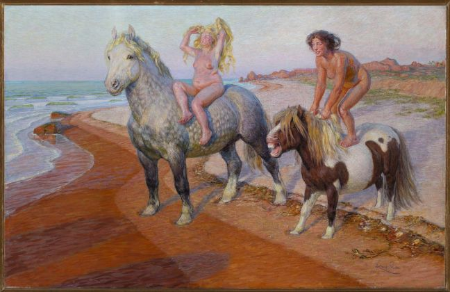 Ballad (Joys of Life), 1901–1902, oil, wood, 83.5 × 126.5 cm, National Gallery Prague