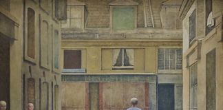 Balthus, Passage du Commerce Saint André, 1952 54. Collezione privata, Svizzera. Photo Mark Niedermann © Balthus