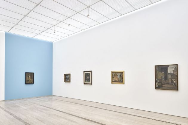 Balthus. Installation view at Fondation Beyeler, Riehen/Basel 2018. Artworks © Balthus