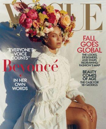 Beyoncé sulla copertina di Vogue