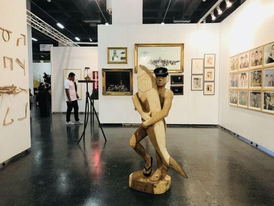Contemporary Istanbul 2018. Il booth di 44A Sanat Galerisi