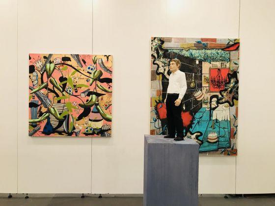 Contemporary Istanbul 2018. Il booth di Nosbaum Reding