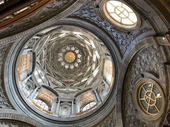 Cupola della Cappella della Sindone, Torino 2018. Photo © Marco Enrico Giacomelli