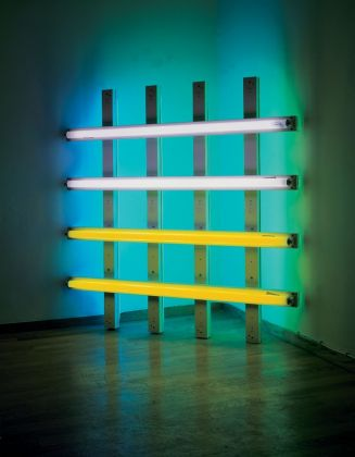Dan Flavin, Untitled (in Honor of Harold Joachim) 2, 1977. FRAC Grand Large – Hauts de France, Dunkerque. Photo © ADAGP, Paris