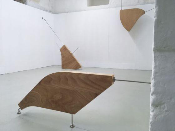 Daniele D'Acquisto. Regola. Exhibition view at Palazzo Comi, Gagliano del Capo. Festival Lands End, 2017