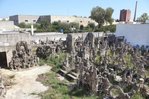 Ezechiele Leandro, Santuario della pazienza. Photo Beppe Gernone. Courtesy Soprintendenza Belle Arti, Archeologia e Paesaggio, Bari