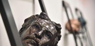 Fabrizio Cotognini. Reversed Theatre. Installation view at Fondazione Sandretto Re Rebaudengo, Torino 2018. Courtesy l'artista e FSRR, photo Giorgio Perottino