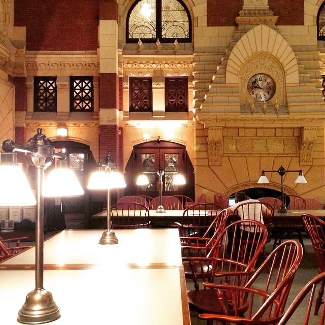 Fisher Fine Arts Library, University of Pennsylvania, progettata da Frank Furness nel 1891 e restaurata da Venturi e Scott Brown un secolo dopo. Photo Rosa Sessa