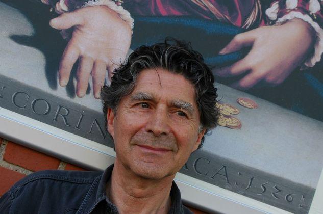 Francesco Masnata ad Art Basel 2005. Photo Linda Kaiser