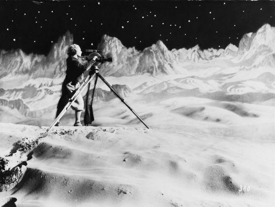Fritz Lang Frau im Mond, 1929 Foto Horst von Harbou Deutsche Kinemathek