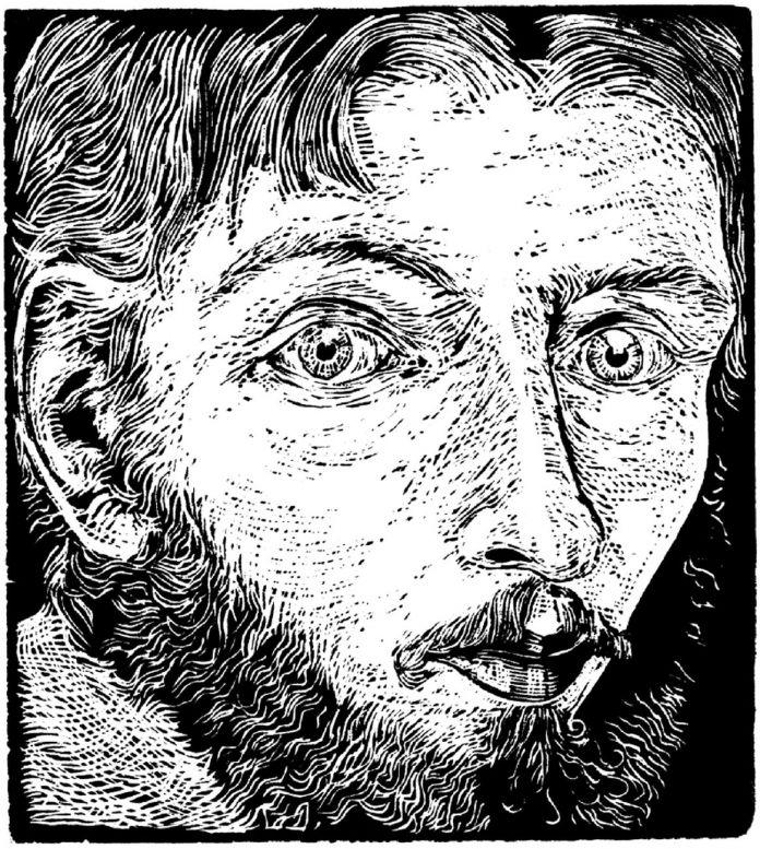 Furio de Denaro, Autoritratto, 1982