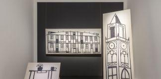 Giulio Squillacciotti, Note sopra le Virtù - Materiali per un monologo mai andato in scena, 2017-18. Installation view at MAMbo – Museo d'Arte Moderna di Bologna, 2018. Photo E&B Photo