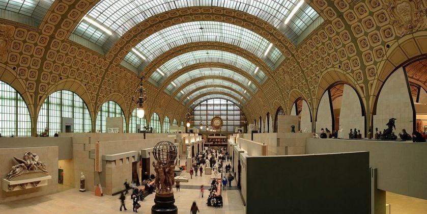 Gae Aulenti, Musée d'Orsay, Parigi, marzo 2007. Photo Benh via wikipedia.org