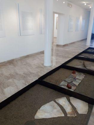 Genius Loci - Maestri di Sardegna. Ruben Montini. Exhibition view at Fondazione MACC, Calasetta 2018. Photo courtesy Giorgio Dettori