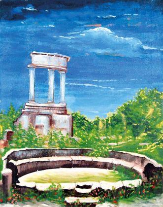 Gianmarco Montesano, Paesaggio, 1981