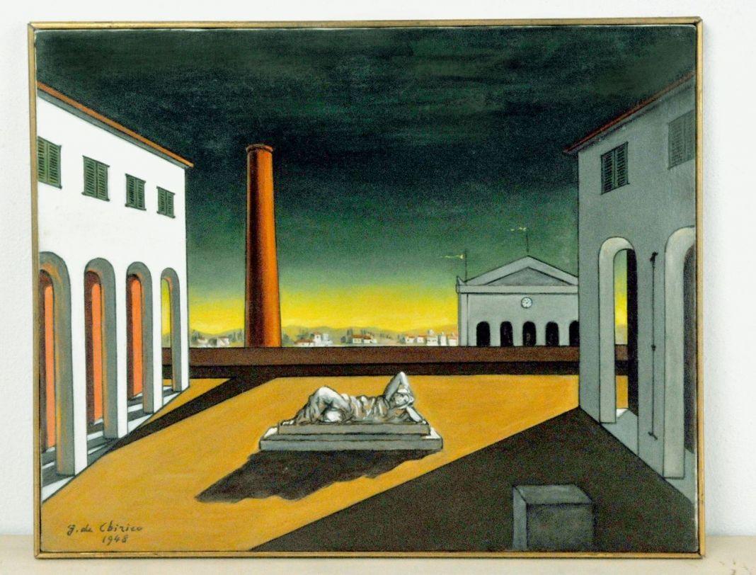 Giorgio de Chirico, Piazza d'Italia, 1948