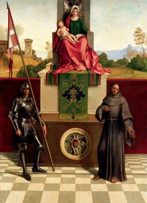 Giorgione, Pala di Castelfranco, 1502. Chiesa di San Liberale, Castelfranco Veneto