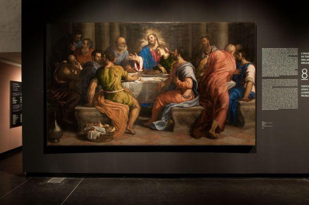 Giuseppe Porta Salviati, Ultima Cena, 1545-47, installation view at Gallerie dell'Accademia, Venezia 2018, photo Irene Fanizza