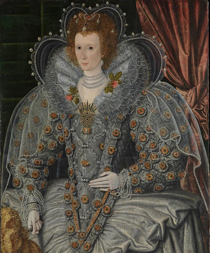 Title: Portrait of a Woman. Author: British Painter (ca. 1600). Museum: Metropolitan Museum of Art, New York Gift of J. Pierpont Morgan, 1911
