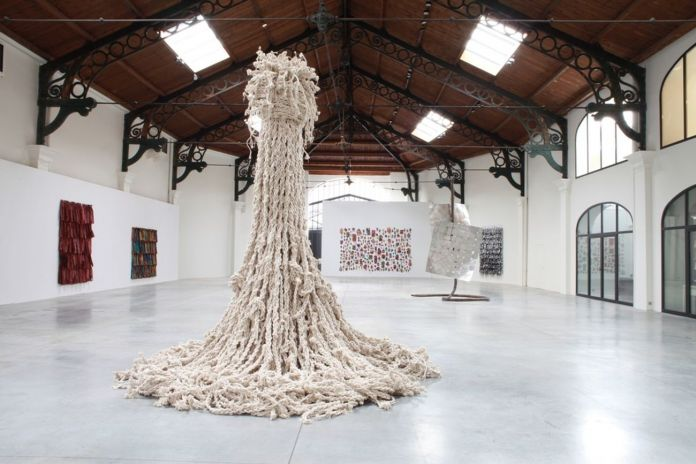 Hassan Sharif, Knots, 2012 16. Loan courtesy Estate of Hassan Sharif & Gallery Isabelle van den Eynde