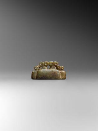 Idolo oculare quadruplo, Asia occidentale, 3300 3000 a.C., Collezione privata, Parigi © Fondazione Giancarlo Ligabue. Photo Hughes Dubois