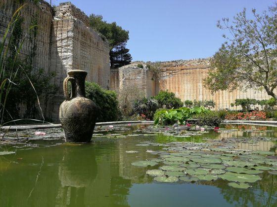 Il Giardino dell'Impossibile, Favignana, 2018. Il ninfeo