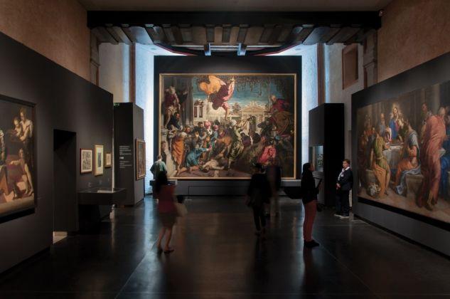 Il Giovane Tintoretto, exhibition view at Gallerie dell'Accademia, Venezia 2018, photo Irene Fanizza