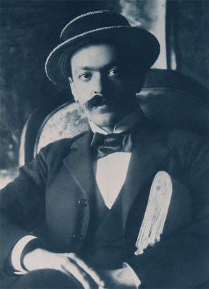 Italo Svevo in un ritratto giovanile