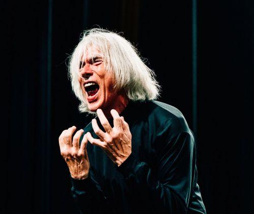 Jaap Blonk, Communicating Monologues © Etang Chen, courtesy AE_2018