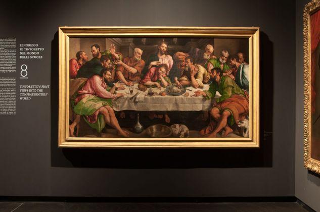 Jacopo Bassano, Ultima Cena, 1547-48, installation view at Gallerie dell'Accademia, Venezia 2018, photo Irene Fanizza