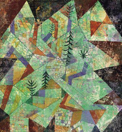Paul Klee, Costruzione Foresta @Roberto Mascaroni Saporetti