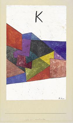 Paul Klee, Kraftwetter, Archive Zentrum Paul Klee