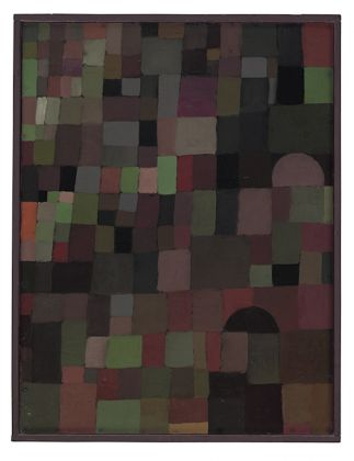 Paul Klee, Paesaggio Urbano,Archive Zentrum Paul Klee