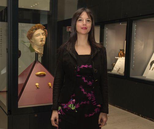La direttrice del MarTa Eva Degl'Innocenti, foto laringhiera.net