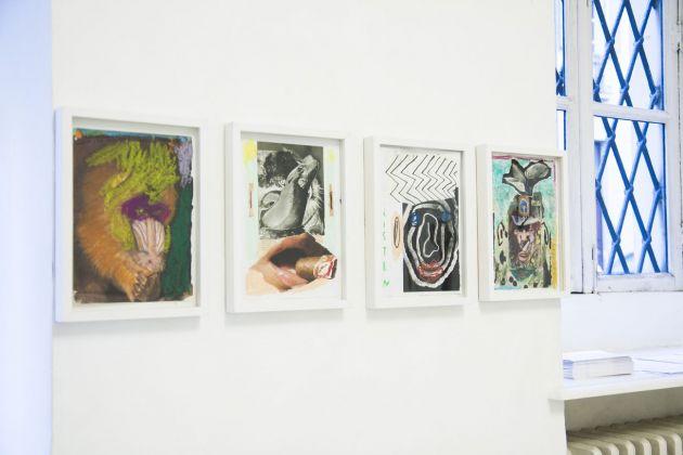 Lasse Årikstad, installation view at Galleria Opere Scelte, Torino 2018