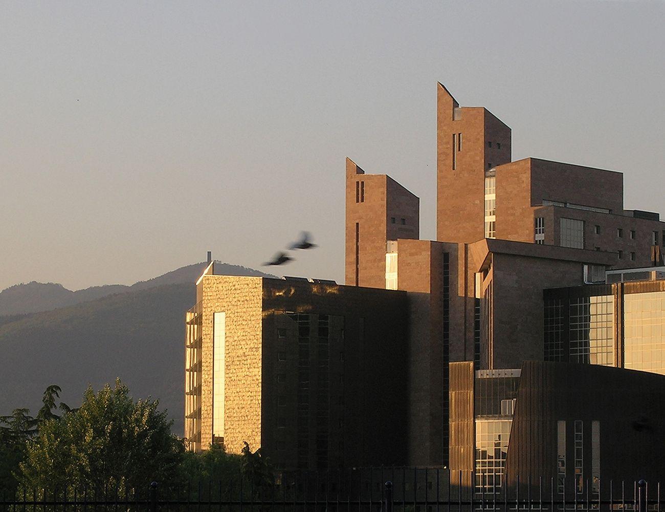Leonardo Ricci, Palazzo di Giustizia, Firenze 1988-2013. Photo Andrea Aleardi