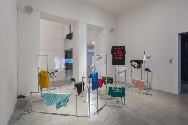 Lia Cecchin, DADA POEM (to a fearless female), 2018. Installation view at MAMbo – Museo d'Ar te Moderna di Bologna, 2018. Photo E&B Photo